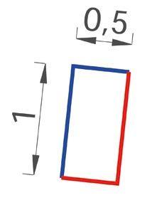 Gabion-Kit Optimized - mur de soutènement - mailles mixtes - ligature agrafe